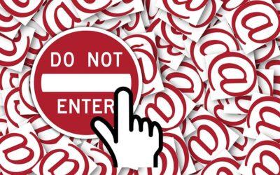Blocking Spam Mail Senders